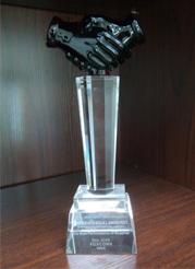 供应商荣誉奖杯
