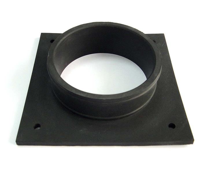 方形单孔橡胶密封件