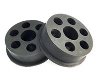 圆形多孔橡胶密封件
